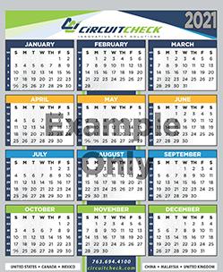 Circuit Check 2022 Calendar Sign Up